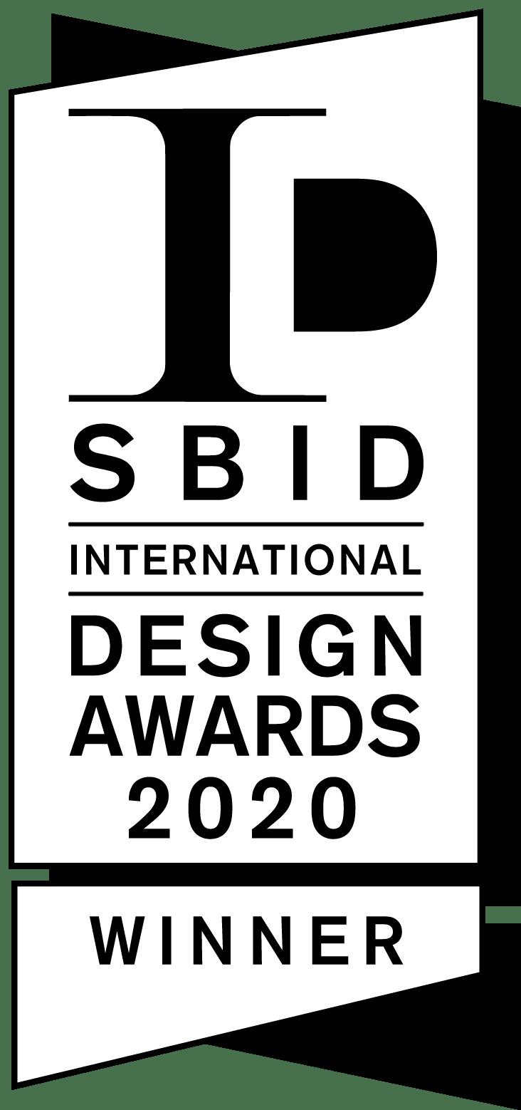 SBID Design Awards 2020 Winner Logo